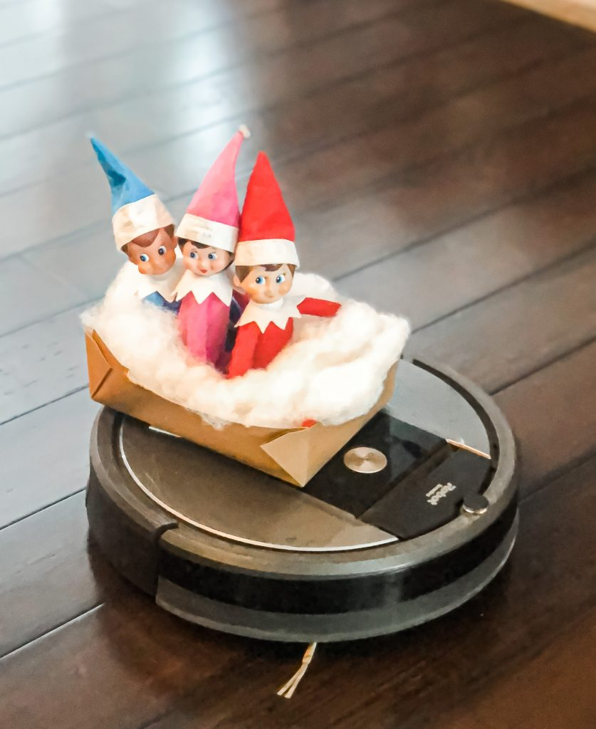 Elf on the Shelf Roomba