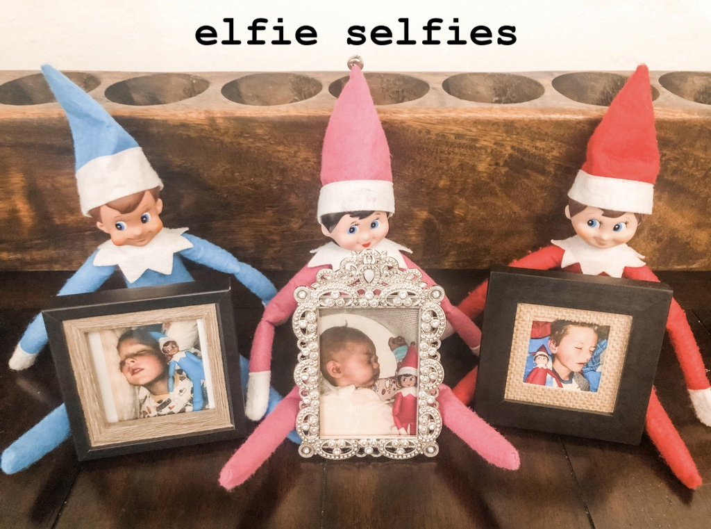 Elf on the Shelf Selfie