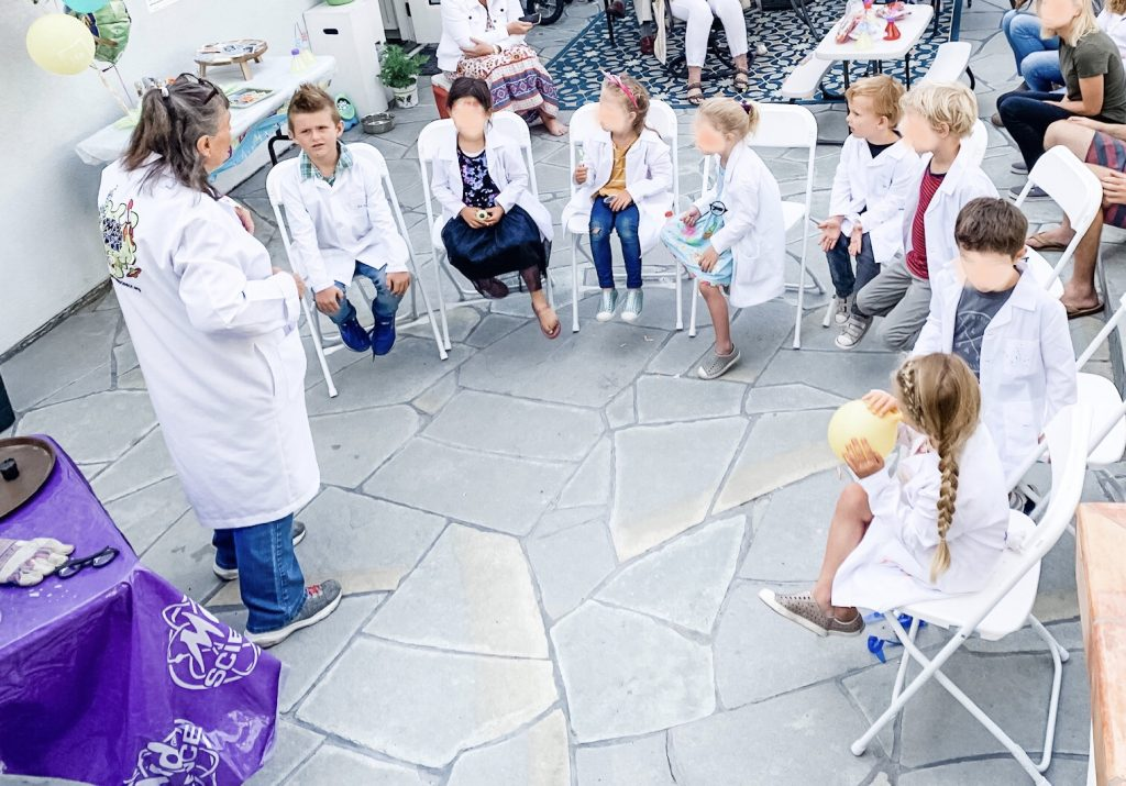 Mad Science presentation full of mesmerizing experiments